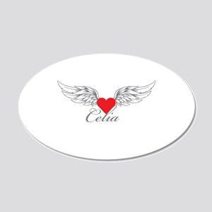 Angel Wings Celia Wall Decal