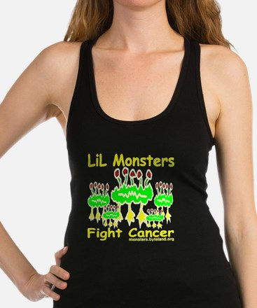 LiL_Monsters_transparent Racerback Tank Top