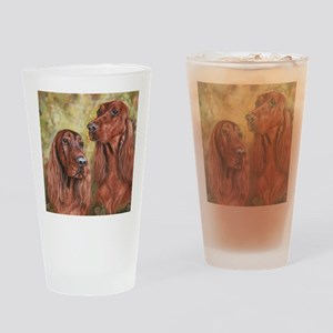 Irish Setter_CB Drinking Glass