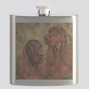 Irish Setter_CB Flask