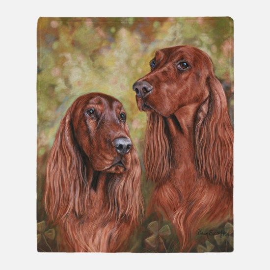 Irish Setter_CB Throw Blanket
