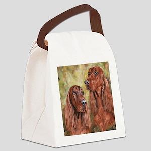 Irish Setter_CB Canvas Lunch Bag