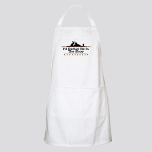 I'd Rather Be In The Shop BBQ Apron
