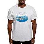 Send More Tourists Ash Grey T-Shirt