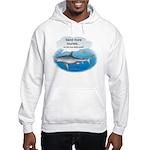 Send More Tourists Hooded Sweatshirt