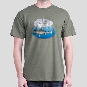 Send More Tourists Dark T-Shirt