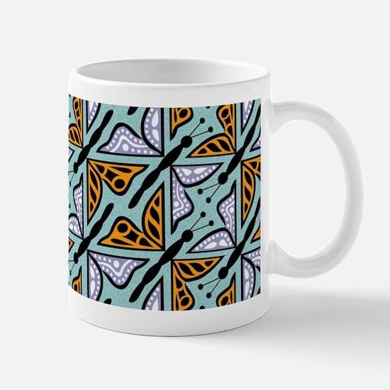 Repeating Butterflies Mug