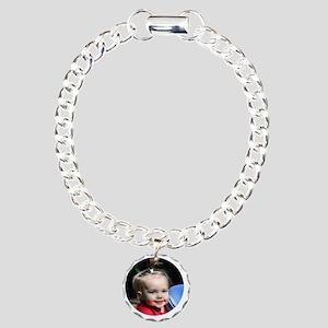 Caroline Ornmanent Charm Bracelet, One Charm