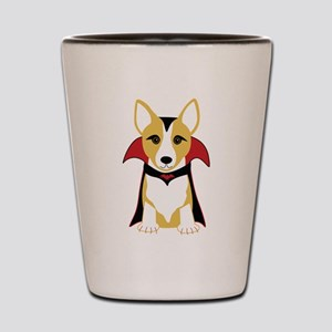 Corgi Vampire Shot Glass
