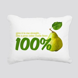 like a pear cider made f Rectangular Canvas Pillow