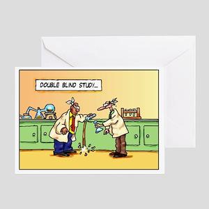 dbleblind Greeting Card