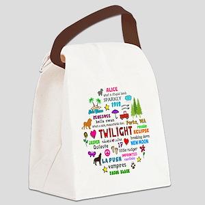 TwiV3 Btn Canvas Lunch Bag