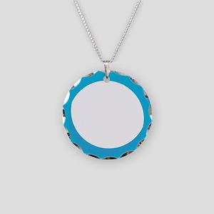 O Necklace Circle Charm