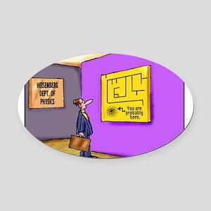 heisenberg Oval Car Magnet