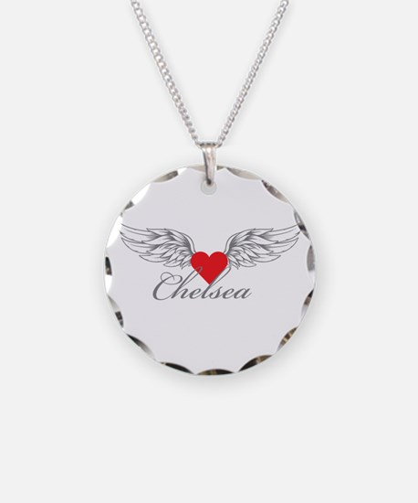 Angel Wings Chelsea Necklace