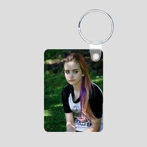 ayla Aluminum Photo Keychain