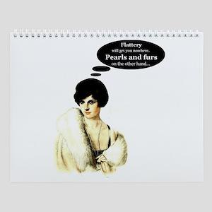 Pearls & Furs Wall Calendar