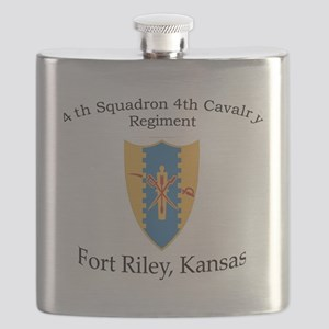 4th Squadron 4th Cav Flask