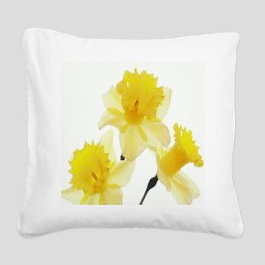 459_ipad_case Daffodills Square Canvas Pillow