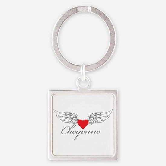Angel Wings Cheyenne Keychains