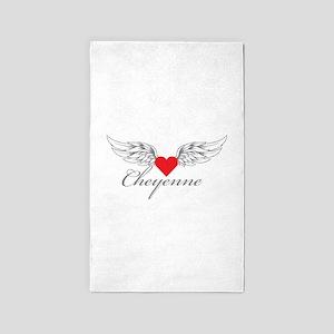 Angel Wings Cheyenne 3'x5' Area Rug