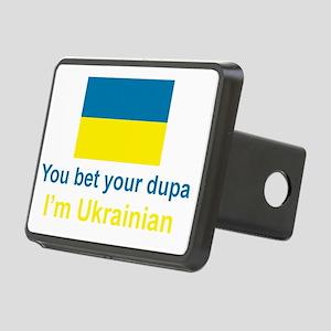 Ukraine_Dupa_Dark Rectangular Hitch Cover