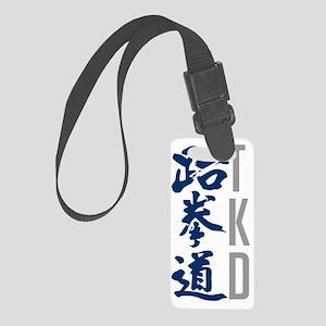 TKD shirts - simple, clean desig Small Luggage Tag