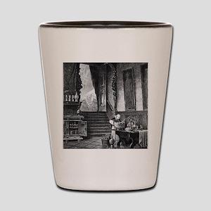 drunkmonk2C Shot Glass