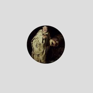 Brooklyn_Museum_-_Monk_Testing_Wine_-_ Mini Button