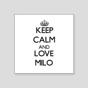Keep Calm and Love Milo Sticker
