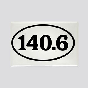 140.6.windsor.white.corrected Rectangle Magnet