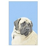 English Mastiff (Fawn) Large Poster