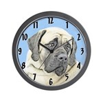 English Mastiff (Fawn) Wall Clock