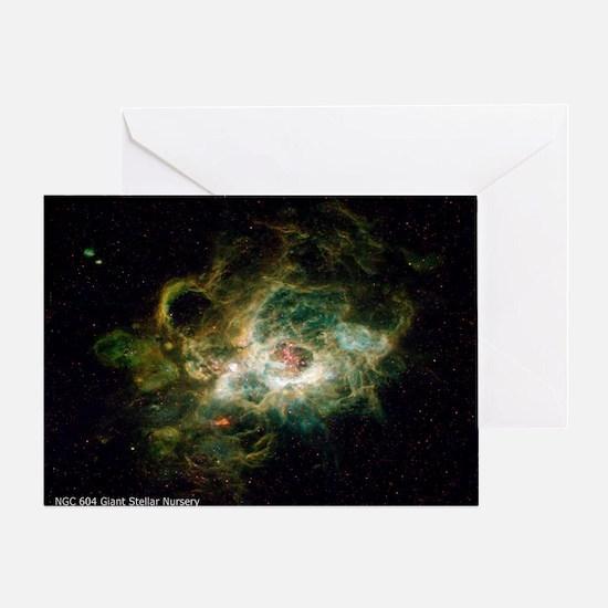 NGC 604 Giant Stellar Nursery small  Greeting Card