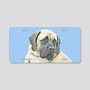 English Mastiff (Fawn) Aluminum License Plate
