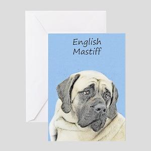 English Mastiff (Fawn) Greeting Card