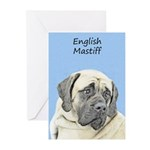 English Mastiff (Fawn) Greeting Cards (Pk of 10)