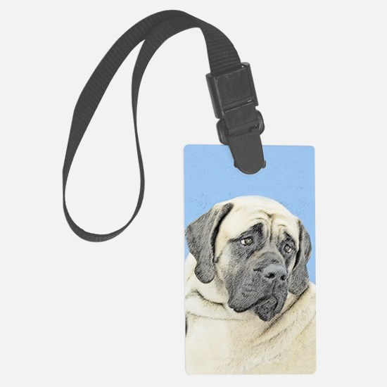 English Mastiff (Fawn) Luggage Tag