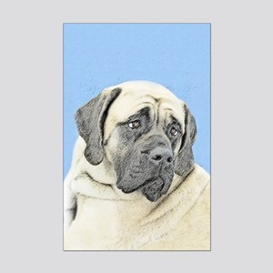 English Mastiff (Fawn) Mini Poster Print