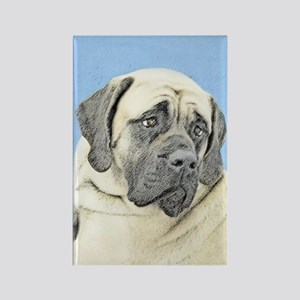English Mastiff (Fawn) Rectangle Magnet