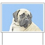English Mastiff (Fawn) Yard Sign