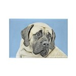English Mastiff (Fawn) Rectangle Magnet (100 pack)