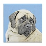 English Mastiff (Fawn) Tile Coaster