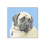 English Mastiff (Fawn) Square Sticker 3