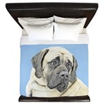 English Mastiff (Fawn) King Duvet