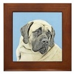 English Mastiff (Fawn) Framed Tile