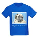 English Mastiff (Fawn) Kids Dark T-Shirt