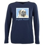 English Mastiff (Fawn) Plus Size Long Sleeve Tee