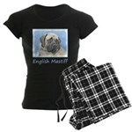 English Mastiff (Fawn) Women's Dark Pajamas