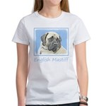 English Mastiff (Faw Women's Classic White T-Shirt